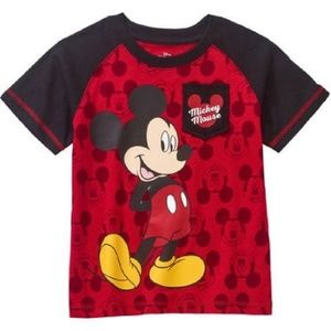 Disney Mickey Mouse Toddler Boys T-Shirt